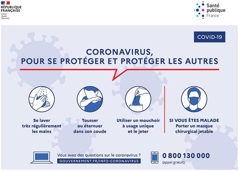 Coronavirus, pour se protéger et protéger les autres