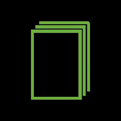 Icône pile de papier